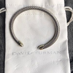 David Yurman 4mm classic cable bracelet